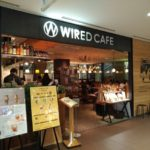 大阪梅田のノマドカフェ「WIRED CAFE ルクア大阪 – ワイアードカフェルクアオオサカ」