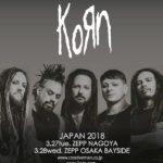 【ライブレポート】Korn 2018 大阪公演レビュー&セットリスト